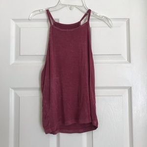 American Eagle High Neck Tank Top